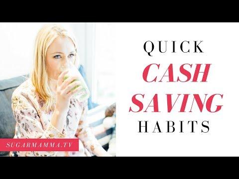 Quick Cash Saving Habits || SugarMamma