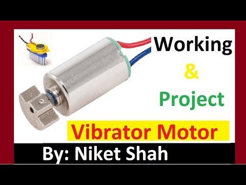 Inside Vibrator Motor with Project( वाइब्रेटर मोटर के अंदर तथा परियोजना )