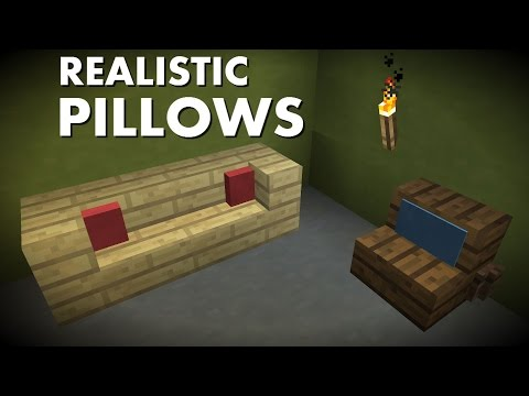 Most Realistic Pillows in Survival Minecraft! [1.9 - No Banners]