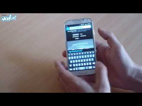 Samsung Galaxy S4 Stock Internet Browser test and overview (20 tabs opened)