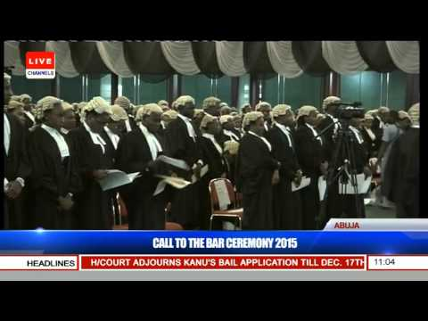 Nigerian Law School Call To Bar Ceremony 2015 (Pt. 6) 15/12/15