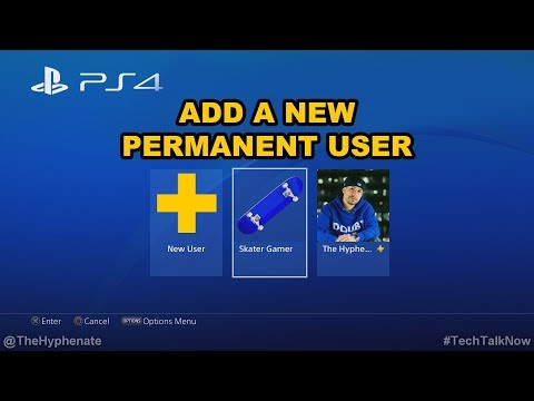 How To: Add New PSN User Accounts on PS4 - Playstation Tutorial for Additional Master Profile