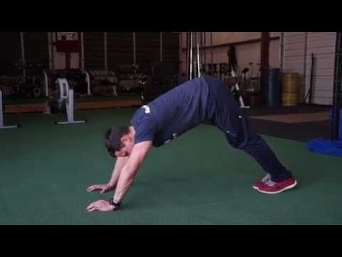 The perfect push up plank hold