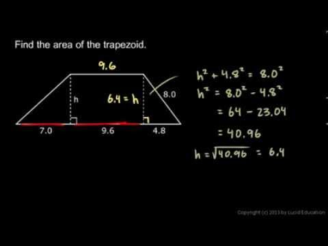 Geometry 9.5d - Pythagorean Theorem Example 2