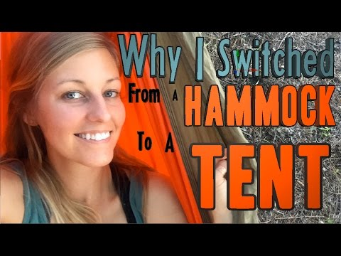 Why I Switched from a Hammock to a Tent