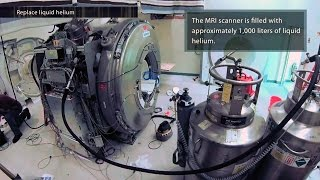 MRI Upgrade Timelapse - Two Weeks in 4 minutes