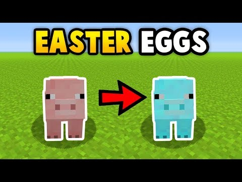 Minecraft All Secret TU57/58 Easter Eggs!  (Ps3/Xbox360/PS4/XboxOne/WiiU)