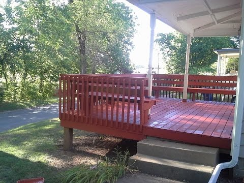 Restore your deck with Behr deck over