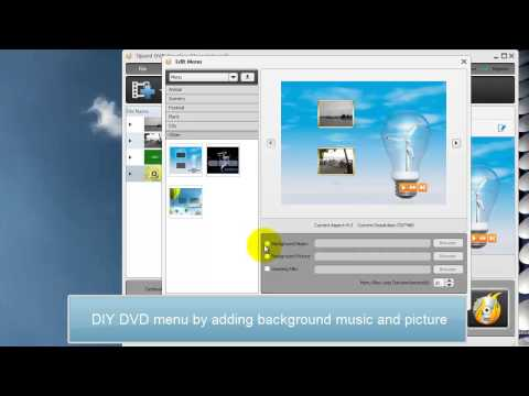 How to burn mp4, mov, m2ts, mts, wmv, avi to DVD disc