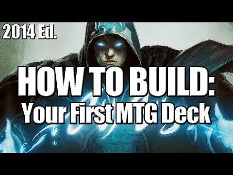 Deck Builder's Toolkit 2014: How to Build Your First MTG Deck