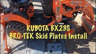 Hodge Stabilizer Install: On Kubota BX - PakVim net HD