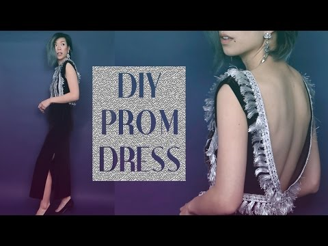 DIY Prom Dress! (Gatsby style feat. Q2HAN) | WITHWENDY