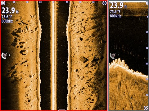 How to See Fish on Structure Scan, Proper Side scan adjustment -Simrad/Lowrance team old school