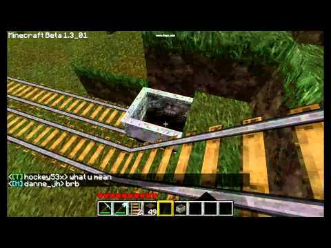 Minecraft - Minecart booster