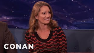"""Katy Tur: Trump's Smile Looks Like The Canadians In """"South Park""""  - CONAN on TBS"""
