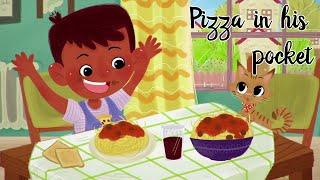 Pizza In His Pocket | Animated Video | ft. Naadira Alli and Rashid Bhikha