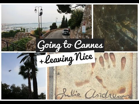 VLOG: Going to Cannes + Leaving Nice! | France #5