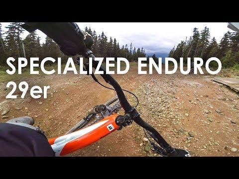 29er at the Whistler Bike Park?! What's it like? Specialized Enduro 29er Demo Ride!