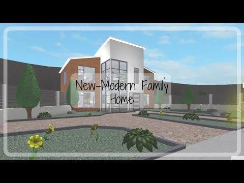 Roblox | Bloxburg: New-Modern Family House (91k)