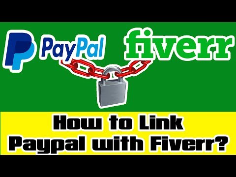 How to Link your Paypal Id with your Fiverr account? Comments Session EP#1