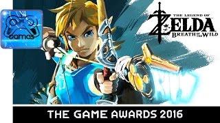 The Legend of Zelda: Breath of the Wild - Геймплейный Трейлер с GAME AWARDS 2016