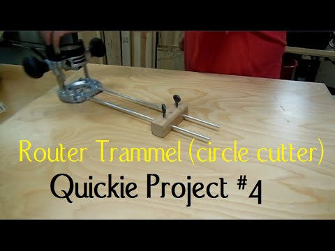 Router circle cutter (Quickie Project # 4)