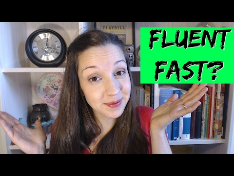How Fast Can I Become Fluent? 30 days? One Year?