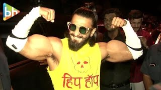Ranveer Singh Shows BEST Body & Beard | Jack & Jones Campaign