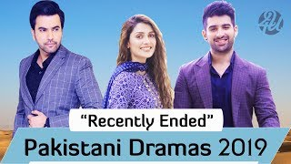 Top 10 Recently Ended Best Pakistani Dramas | Latest