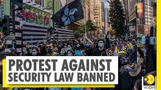 Silent protest march targets National Security Law in Hong Kong