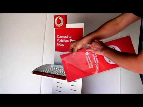 VOD2903 vodafone sim card bin display assembly instructions