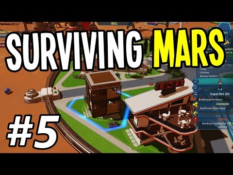 Surviving Mars - BUILDING a GADGET SHOP for GAMERS!! - Surviving Mars Gameplay Playthrough - Ep. 5
