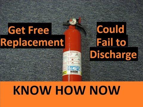 Kidde Fire Extinguisher Recall
