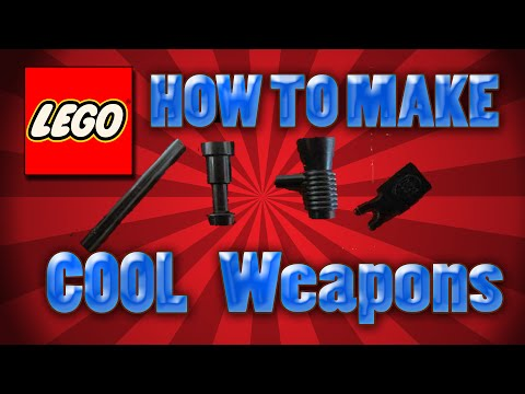 How To Make Cool Lego Weapons