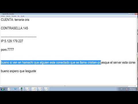 Nuevo server de terraria 2012 version 1.1