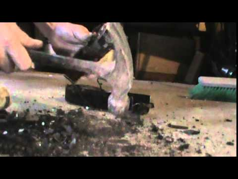 Scrapping A Light Ballast Box!! For Copper Wire And Other Scrap Metals!!
