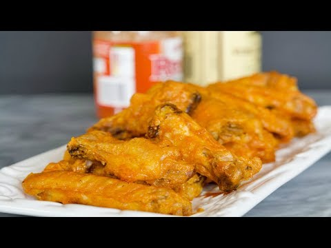 Buffalo Chicken Wings Recipe   How To Make Chicken Wings   SyS