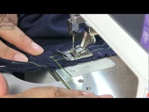 How to Sew a Set-In Sleeve - Sewing from Angela Kane