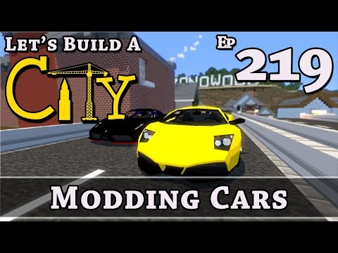 How To Build A City :: Minecraft :: Modding Cars :: E219