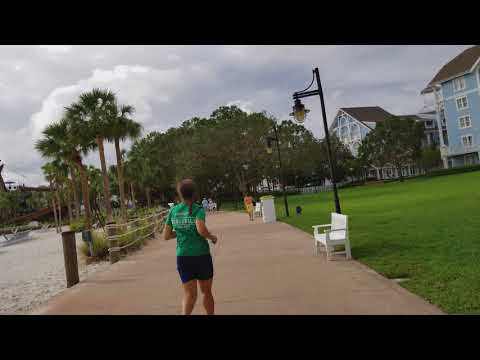 Walk from Epcot International Gateway to Yacht Club Resort [4K]