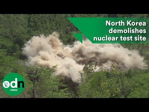 North Korea demolishes nuclear test site