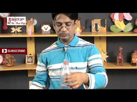 Fountain In Bottle - Easy Science Project For Kids In Hindi By Sameer Goyal