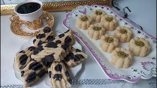 مطبخ أم أسيل: الغريبة الجزائرية بالفرينة المحمصة تذوووب فالفم و بطعم روعة كانها مصنوعة من الكاوكاو