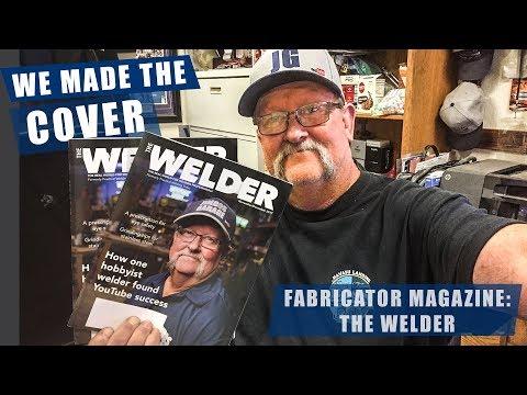 Not your AVERAGE Youtuber - THE WELDER MAGAZINE | JIMBO'S GARAGE