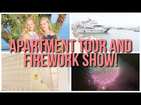 Cannes, Firework Show And Apartment Tour! Holiday Vlog 3~lush leah