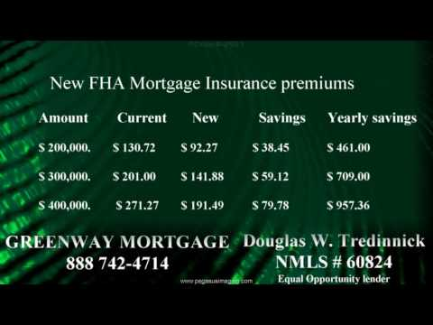 New Reduced  FHA Mortgage Insurance premiums