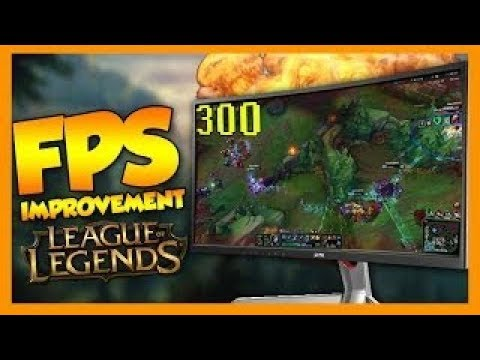 League of Legends ULTIMATE FPS BOOST 2017!!! #UPDATED VERSION#