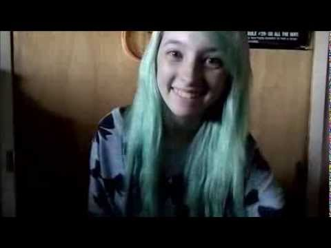 How To Dye Mint Green Hair!