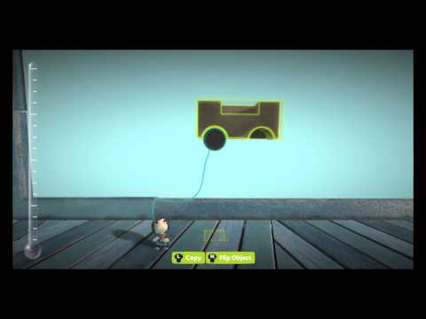 LittleBigPlanet™3 - Building a Basic Car (PS4)