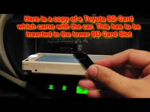 Toyota NSCP-W62 SD Card Error/Missing in URDU/HINDI